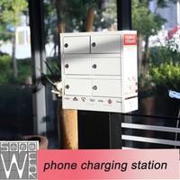 6 docks 2014 new design multiple cell phone charging station
