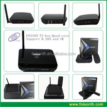 Hottest Foison TV Box with Support H.265 and 4K