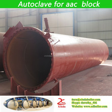 Good quality and price autoclave for finished aerated concrete block factory in China