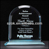 China crystal printbale custom acrylic award&trophy stand