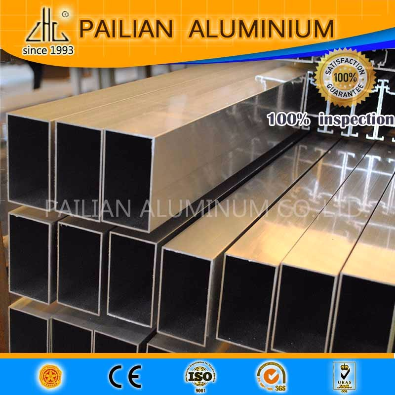GB standard épaisseur de paroi 2.0mm à battants profil en aluminium pour fenêtres et portes