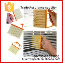 Window Blinds Brush Cleaner Shape Hand Held Window Brush Households Cleaning Vertical Window Air Conditioner Duster Cleaner