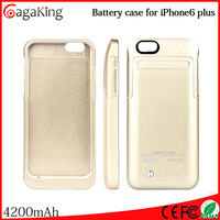 mobile phone charger for iphone6 plus 5.5 4200mah china wholesale battery fan for iphone 6 plus power case