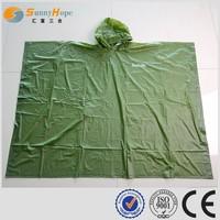 SUNNYHOPE PVC plus size mens dress raincoats
