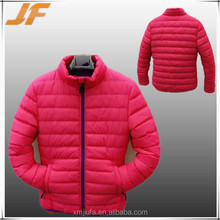 nylon padded lady jacket winter coat,over 3 years re-orders popular couple jacket