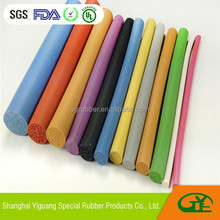 Smooth Surface Silicone Foam Strip