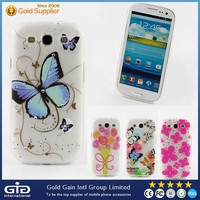 Diamond tpu S3 cover case for Samsung i9300 with butterfly pattern