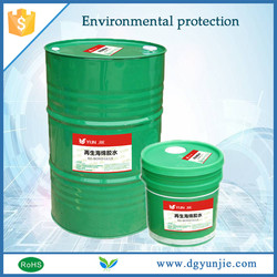 Quickly Effecting safety PU Adhesive for renewable sponge