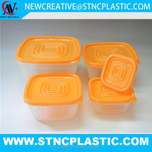 hot sale food safe cheap plastic pet food container