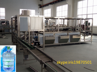 Most Popular 5 Gallon Mineral and Pure Water Bottle Production Line