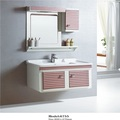 DJ-6755 Estilo moderno pendurado armário de banheiro PVC