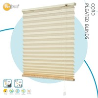decorative hot sale cord pleated shutters