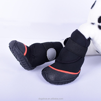 2015 JML New Dog Winter Slip resistant rubber soles Booties Pet Dogs Anti-slip Waterproof Protective Snow Boots Shoes