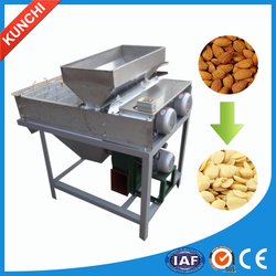 Nut peanut/soybean/almond skin removing machine with high efficiency