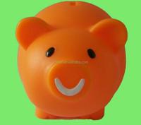 plastic money-saving piggy bank cheap plastic piggy banks High quality custom make souvenir gift piggy bank