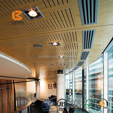 Micropore Perforation Wooden Timber Acoustic Board Panel Bamboo Finish For North American