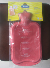 fashion clssical 2500ml rubber hot water bottles with high quality,1 liter bottle