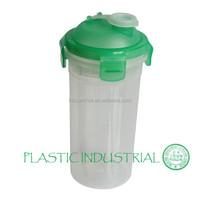 BPA Free 100% Airtight Plastic Shaker Bottle
