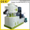 (M) Long service time TYJ 550-II new type vertical double-layer ring die sawdust pelletizing machine