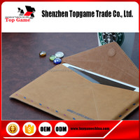 Unique &high quality envelope leather cases For iPad tablet case
