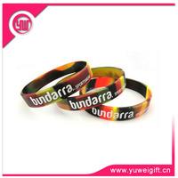 China maker fashion rubber charm bracelet