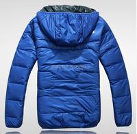 Зимняя мужская одежда открытый случайные спортивные пальто & куртки, человек / мужчина толстый теплый вниз куртки пальто для мужчин