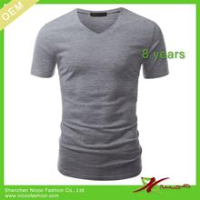 100% brand new organic cotton t-shirt with low price
