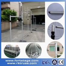 Portable Pipe And Drape For Wedding Decoration