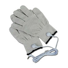 TENS EMS silver massage glove