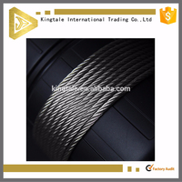 7*19 structure rust preventing stainless steel wire cable