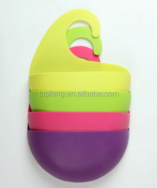 Plastic Bathroom Shower Caddy With Hook/ Plastic Bathing Storage Box ...