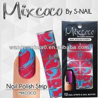 100% real dry nail polish strips nails professional products