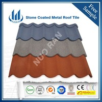 Nuoran High quality red clay roof tiles /roof tile paint /spanish roof tiles