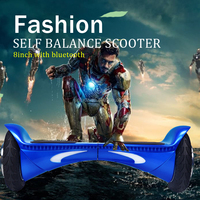 2016 new design 2 wheel adult stand up electric scooter 8inch adult electric skateboard with bluetooth and LED
