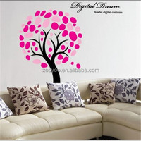 zooyoo2181pvc removable self adhesive home decor livingroom new design large tree products digital dream decal