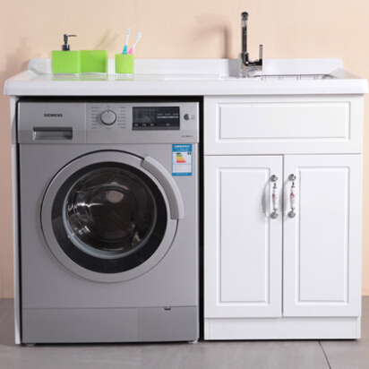 Countertop washing machine countertop stainless steel for Kitchen cabinet washing machine