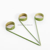 Chinese Eco-friendly Disposable Twister BBQ Bamboo Stick/Finger Stick