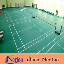 high standard pvc floor, lichi grain badminton sports courts flooring NTF-PS092B
