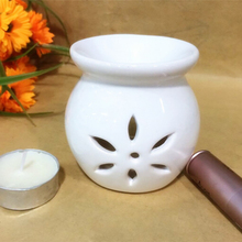 Mini Rose Scented Essential White Oil Aroma for Ceramic Burner Handmade (5 ml).