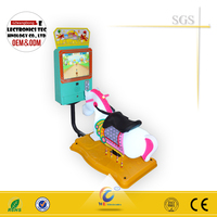 WD 2015 NEW!!! indoor horse coin operated kiddie rides for sale with different types