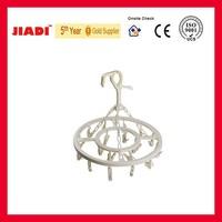 JK-608 Plastic clothes hanger with clothes peg