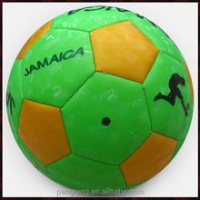 matte pvc leather football