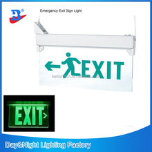 LED rechargable emergency lamp with Exit sign CE approved 297