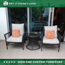 patio wicker chair and table furniture set