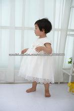 Las muchachas usan en verano hasta la rodilla para los niños vestidos de fiesta de lujo