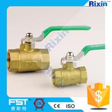 "RX 1158-101 size 1/2,3/4,1"" Stem Water Meter Brass Gate Valve"