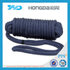 18mm double braided polyester dock line,polyester braided rope