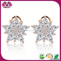 Jadau Earrings, Leaf Shape Earrings, Silver Earring Settings