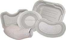paper pulp disposable bedpan with lid fast delivery time