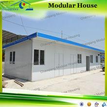 Estructura de acero barato casas prefabricada casas de lujo